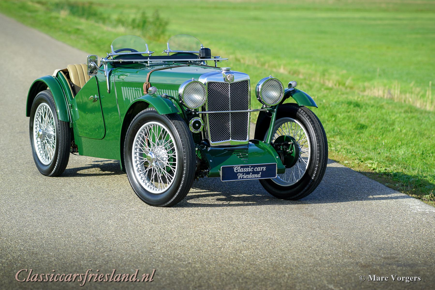 MG J2 MIDGET 1933 - Classic Cars Friesland
