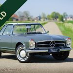 sold MERCEDES-BENZ 230 SL PAGODE 1967